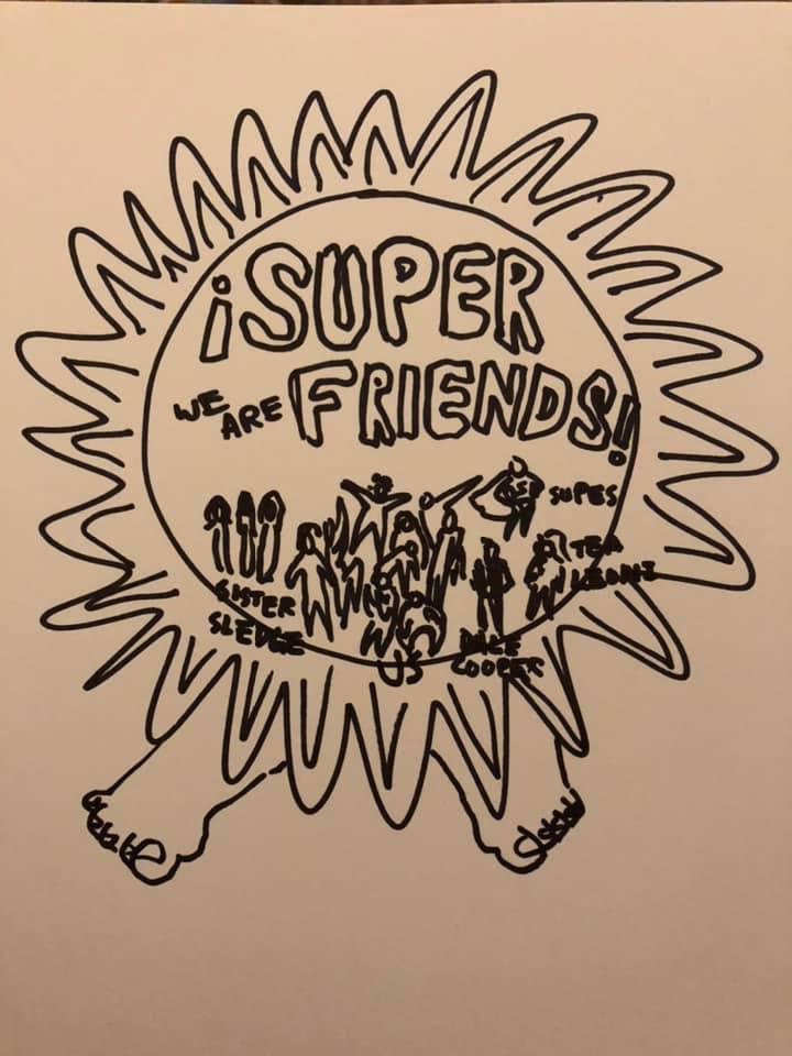 Eric Heitmann Super Friends Badge